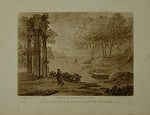 Landscape. From the original drawing in the collection of the Duke of Devonshire: Jonah. A Bay or...