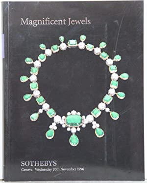 Magnificent Jewels. Auction: Geneva, Wednesday, 20th November 1996.