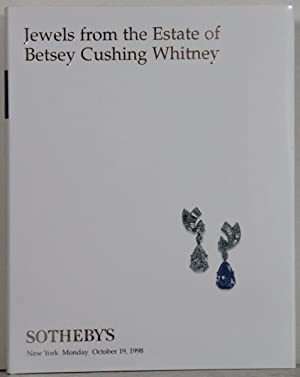 Jewels from the Estate of Betsey Cushing Whitney. Auction: New York, Monday, October 19, 1998.