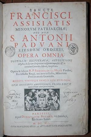 Sancti Francisci Assisiatis, Minorum Patriarchae nec non: Franz von Assisi: