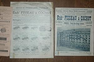 Outils et fournitures generales. Catalogue No. 82: Fisseau & Cochot: