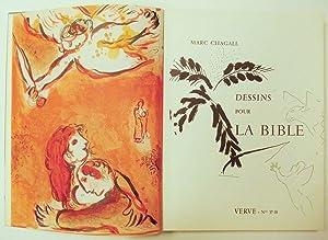 dessins pour la bible verve nr 37 38 von chagall marc paris verve 1960 altstadt. Black Bedroom Furniture Sets. Home Design Ideas