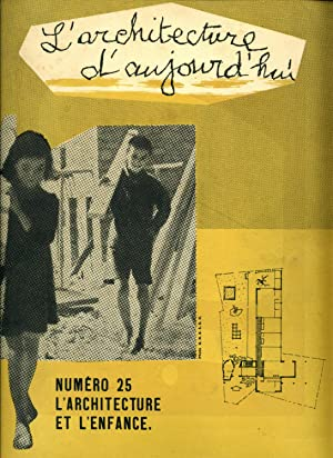 L'ARCHITECTURE D'AUJOURD'HUI. 20e annee. No. 25 (Aug.