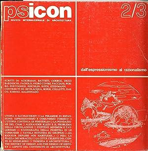 PSICON 2/3. Rivista internationale di architettura. Anno