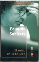 EL REINO DE LA BELLEZA: EDUARDO SUBIRATS