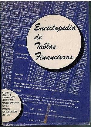 ENCICLOPEDIA DE TABLAS FINANCIERAS CON AMPLIAS EXPLICACIONES REGLAS EJEMPLOS: BUROTEL S A