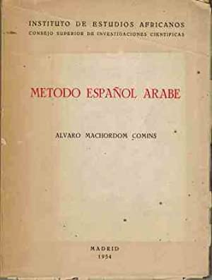METODO ESPA�OL ARABE: ALVARO MACHORDOM COMINC