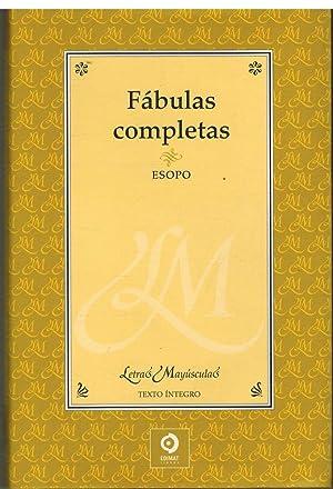 FABULAS COMPLETAS: ESOPO