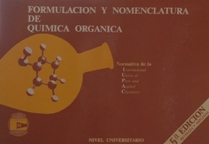 FORMULACION Y NOMENCLATURA DE QUIMICA ORGANICA: JUAN E. PADILLA CARBALLADA