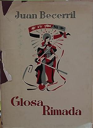 GLOSA RIMADA: JUAN BECERRIL