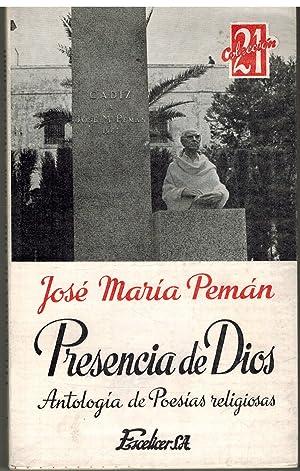 PRESENCIA DE DIOS: JOSE MARIA PEMAN