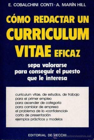 9788431503611 Como Redactar Un Curriculum Vitae Eficaz Abebooks