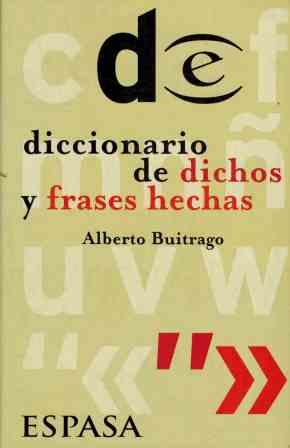 9788423992270 Diccionario De Dichos Y Frases Hechas