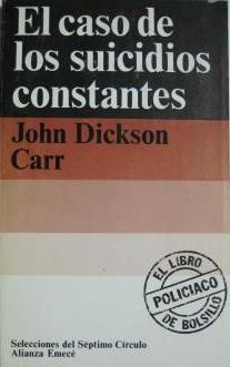 El caso de los suicidios constantes, Gideon Fell 13 - John Dickson Carr Md30456064162