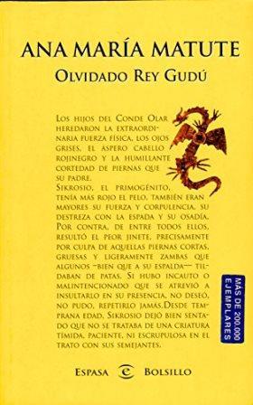 OLVIDADO REY GUDU: ANA MARIA MATUTE