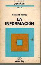 LA INFORMACION: FERNAND TERROU