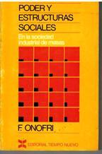 PODER Y ESTRUCTURAS SOCIALES: FABRIZIO ONOFRI