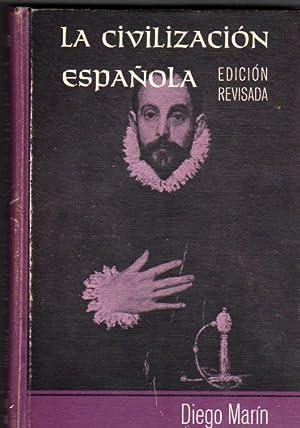 LA CIVILIZACION ESPAÑOLA: DIEGO MARIN