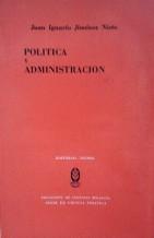 POLITICA Y ADMINISTRACION: JUAN IGNACIO JIMENEZ