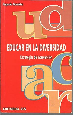 EDUCAR EN LA DIVERSIDAD: EUGENIO GONZALEZ