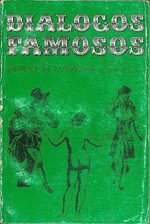 DIALOGOS FAMOSOS.CAMPOS ELISEOS. ADAN Y EVA.: SALVADOR DE MADARIADA