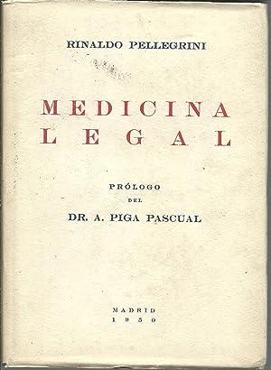 MEDICINA LEGAL: RINALDO PELLEGRINI