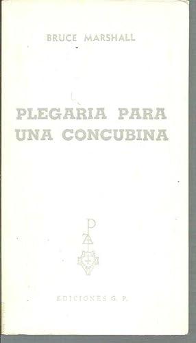 PLEGARIA PARA UNA CONCUBINA: BRUCE MARSHALL