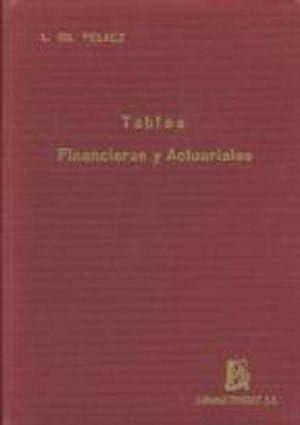 TABLAS FINANCIERAS Y ACTURIALES: LORENZO GIL PELAEZ