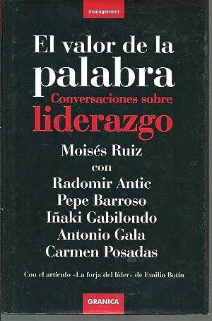 EL VALOR DE LA PALABRA: MOISES RUIZ