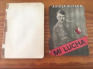 MI LUCHA: Adolf Hitler