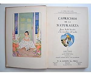 CAPRICHOS DE LA NATURALEZA.- Juana Isabel Descubre a Los Moradores Del Jardín .-: ISABEL ...