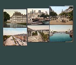 PARIS ( 6 PHOTOGRAPHIES ORIGINALES COULEUR ): JULES HAUTECOEUR