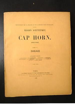 MISSION SCIENTIFIQUE DU CAP HORN . 1882: L. Fairmaire .-
