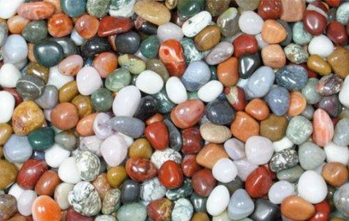 Trommelsteine,Heilsteine,Dekosteine,Steine,Mix,medium 1kg