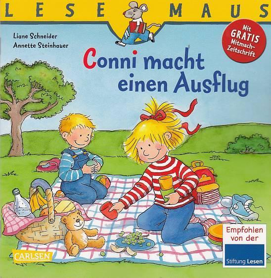 Conni macht einen Ausflug : eine Geschichte. von. Mit Bildern von Annette Steinhauer / Lesemaus ; Bd. 136