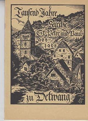 Detwang und seine tausendjährige St. Peter- und: Strobel Karl: