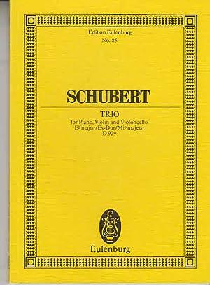 Schubert - Pianoforte Trio Es-Dur Paynes kleine