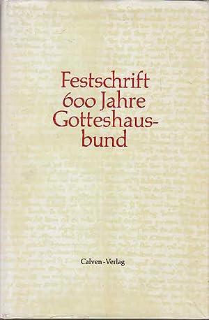 Festschrift 600 Jahre Gotteshausbund. Zum Gedenken an: unbekannt: