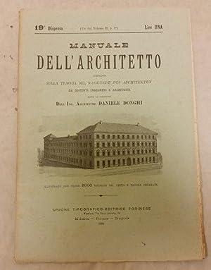 Donghi Daniele - MANUALE DELL' ARCHITETTO -