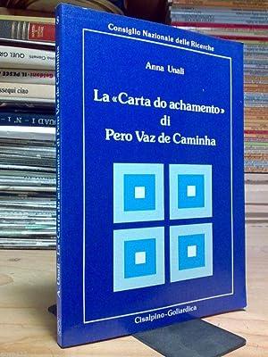 Anna Unali - LA CARTA DO ACHAMENTO