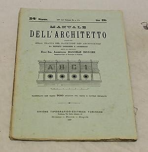Manuale dell'architetto dispensa 24