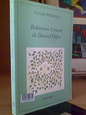 Tullio Pericoli - ROBINSON CRUSOE - ill.