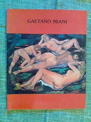 Raffaele De Grada - GAETANO MIANI –