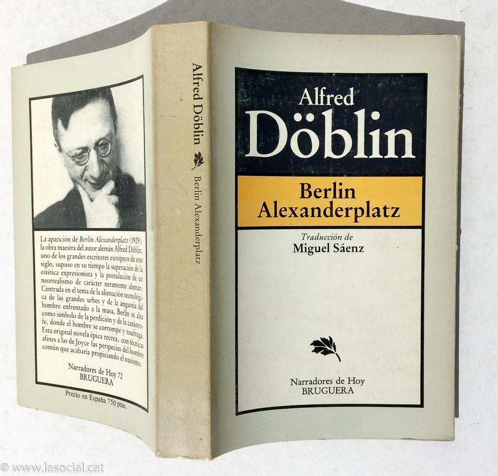 Resultado de imagen para escritor (Alfred Döblin)