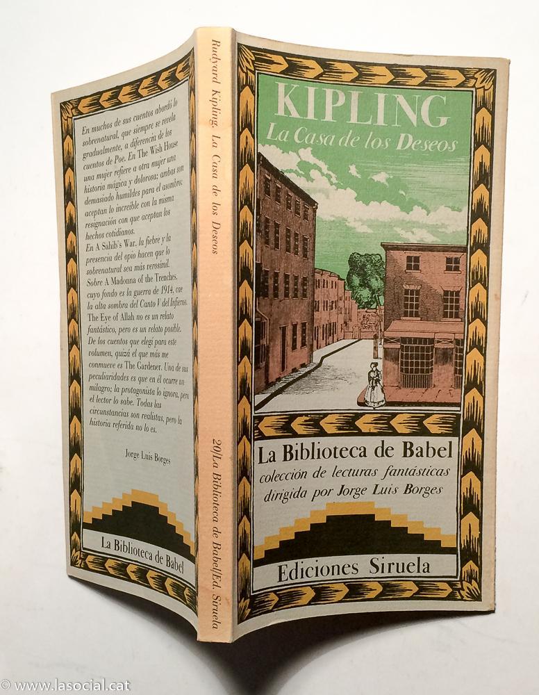 código postal Girar Interprete  La casa de los deseos by Rudyard Kipling: Muy bien Tapa blanda (1985)  Primera edición | La Social. Galería y Libros