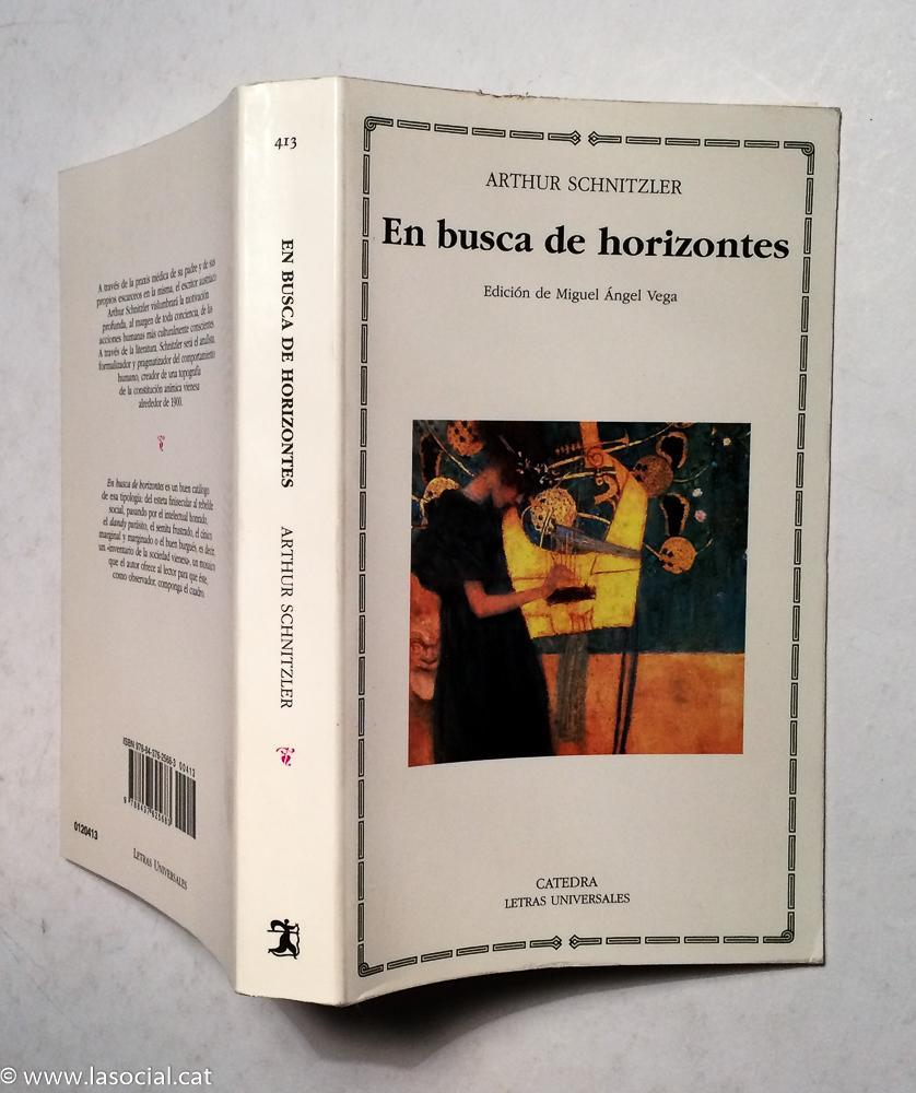En busca de horizontes - Arthur Schnitzler
