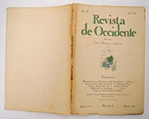 REVISTA DE OCCIDENTE n CX