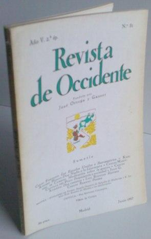 REVISTA DE OCCIDENTE n 51. Los Estados: Celso furtado; Karl