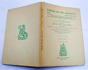 PAPELES DE SON ARMADANS. Año V (1960) Tomo XVI Núm. XLVII (Febrero): Elogio del sosiego; Prólogo ...