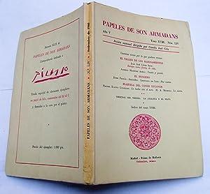 PAPELES DE SON ARMADANS. Año V (1960): Camilo Jose Cela;